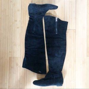 Sam Edelman | Tall Black Suede Knee High Boots